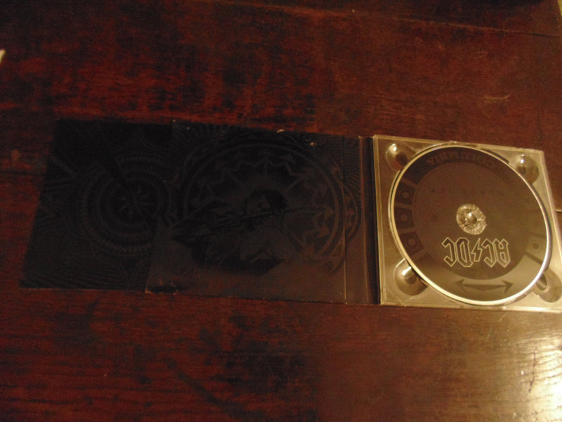 AC/DC CD, Black Ice, Digi-case w/ booklet