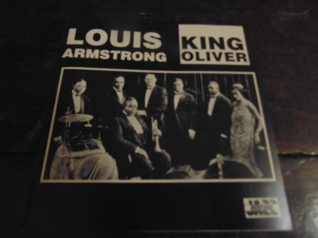 Louis Armstrong & King Oliver CD, 18 TRKS