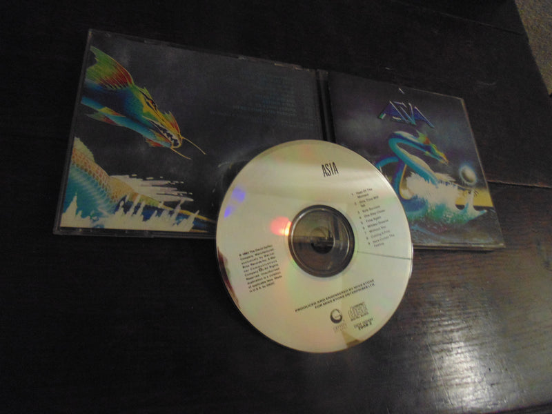 Asia CD, Self-titled, S/T, Same, Geffen
