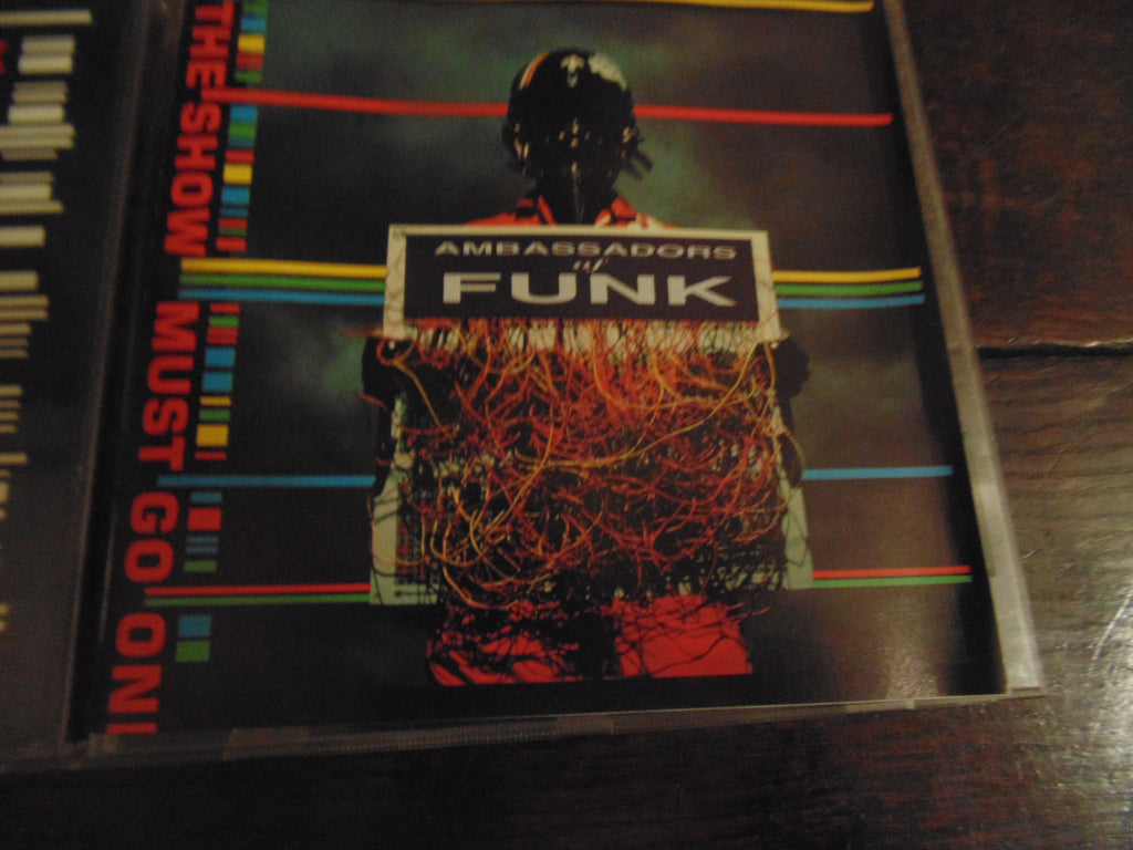 Ambassadors of Funk CD, The Show Must Go On w/ Sticker