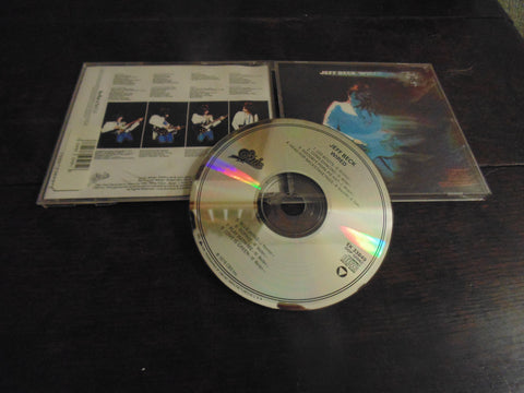 Jeff Beck CD,  Wired, Epic Records, Early Pressing, EK 33849