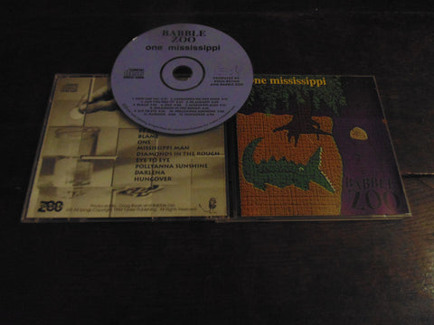 Babble Zoo CD, One Mississippi, 12 Tracks