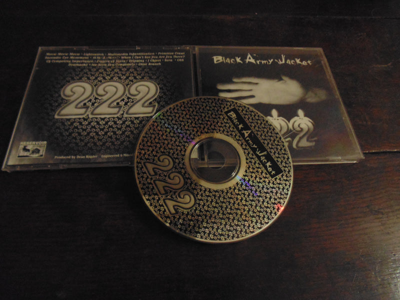 Black Army Jacket CD, 222