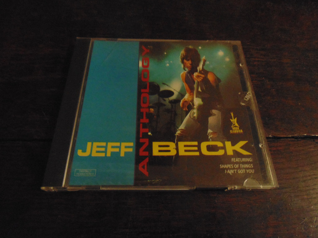 Jeff Beck CD, Anthology, Rock Classics Pressing