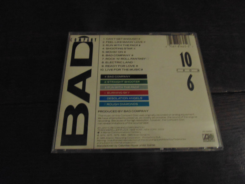 Bad Company CD, 10 from 6, Paul Rodgers