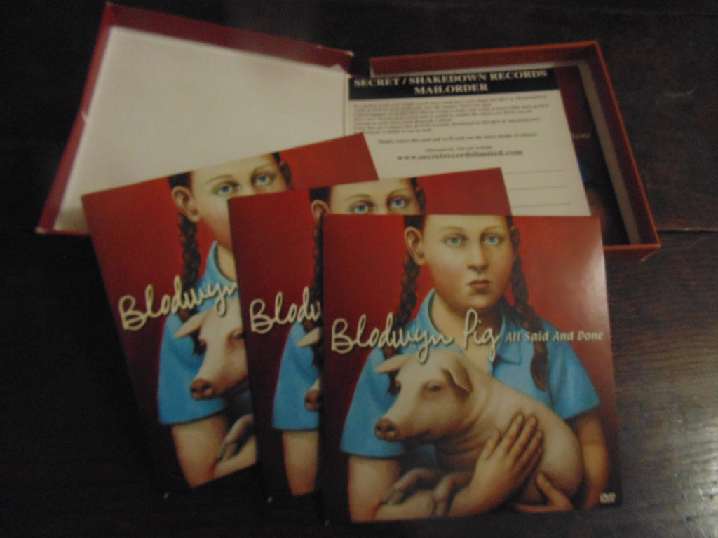 Blodwyn Pig CD, All Said and Done, Box Set, Jethro Tull