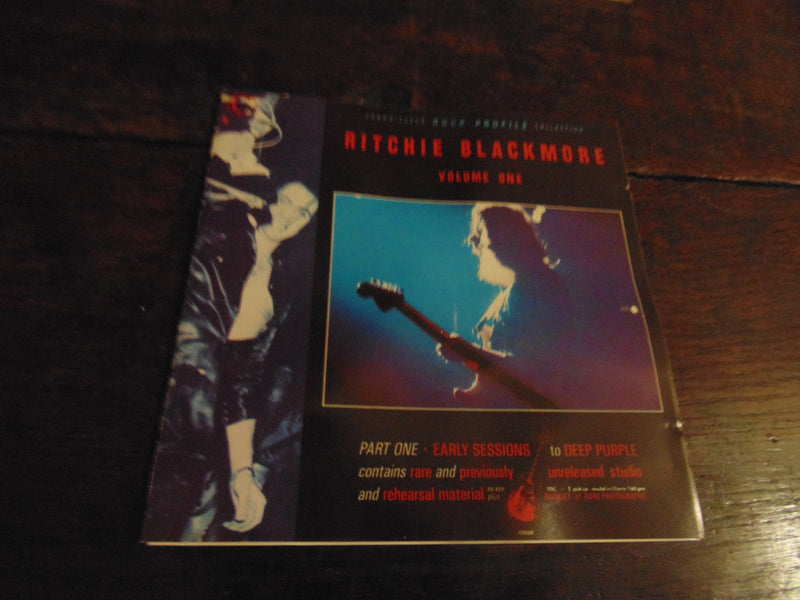 Ritchie Blackmore CD, Rock Profile, Volume Two, 2, Connoisseur, French Import, Deep Purple, Rainbow