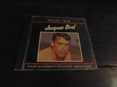 Jacques Brel CD, Master Serie,