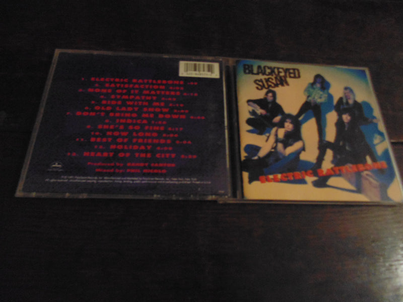 Blackeyed Susan CD, Electric Rattlebone, Britny Fox, Fibits: CD, LP and Cassette Store