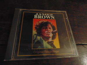 James Brown CD, Original Recordings Vol 2, Golden Age, CDFR 0465, Live, Import