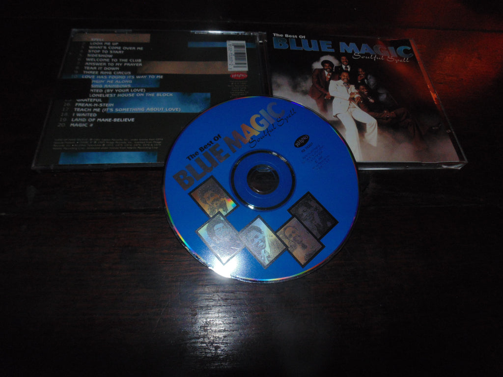 Blue Magic CD, The Best of, Soulful Spell, Greatest, Rare