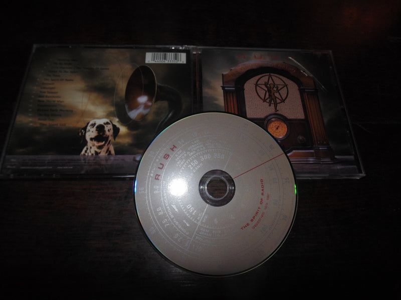 Rush CD, The Spirit of Radio,