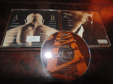 Tupac CD, Me Against the World, PA, BMG