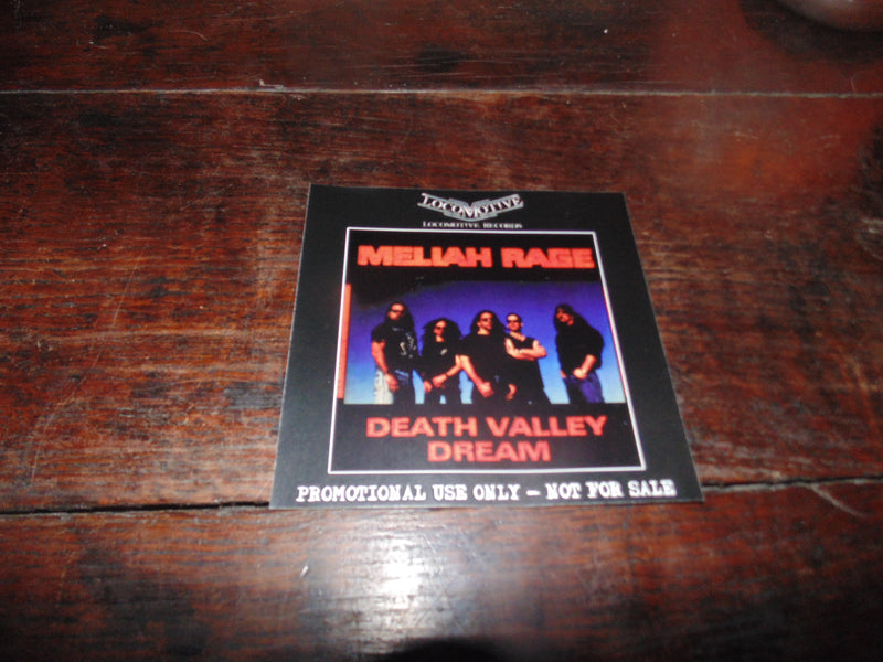 Meliah Rage CD, Death Valley Dream