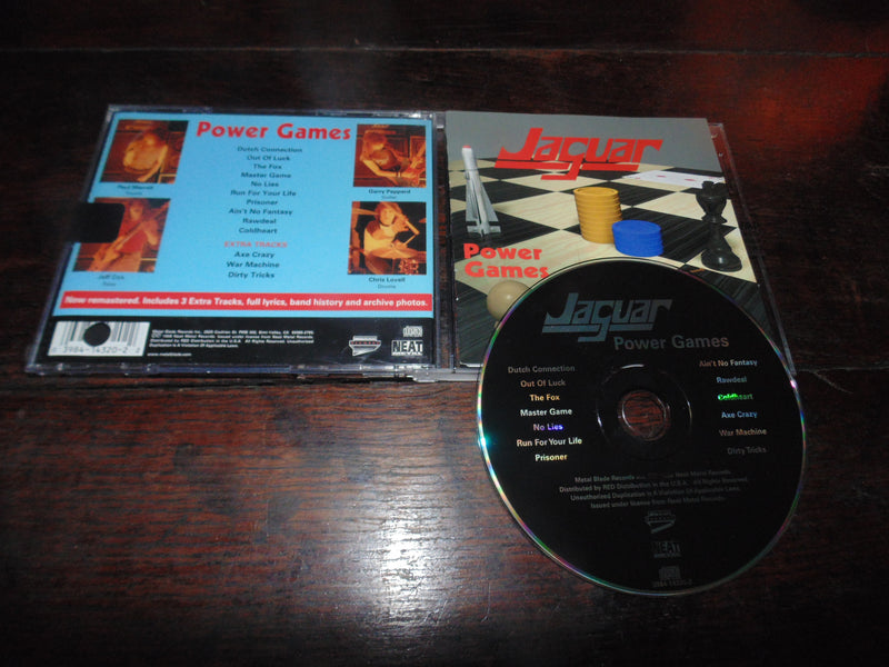 Jaguar CD, Power Games, Metal Blade