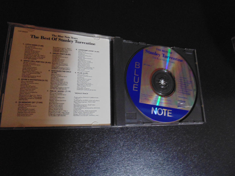 Stanley Turrentine CD, The Best of , Greatest, The Blue Note Years