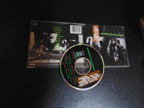 Cats in Boots CD, Kicked & Clawed