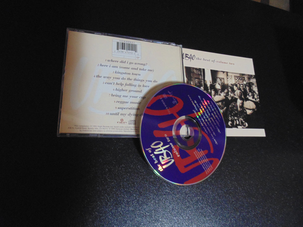 UB40 CD, The Best of - Volume Two, 2, Greatest