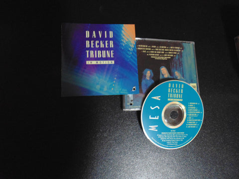 David Becker Tribune CD, In Motion, Fibits - CD, LP & Cassette Store