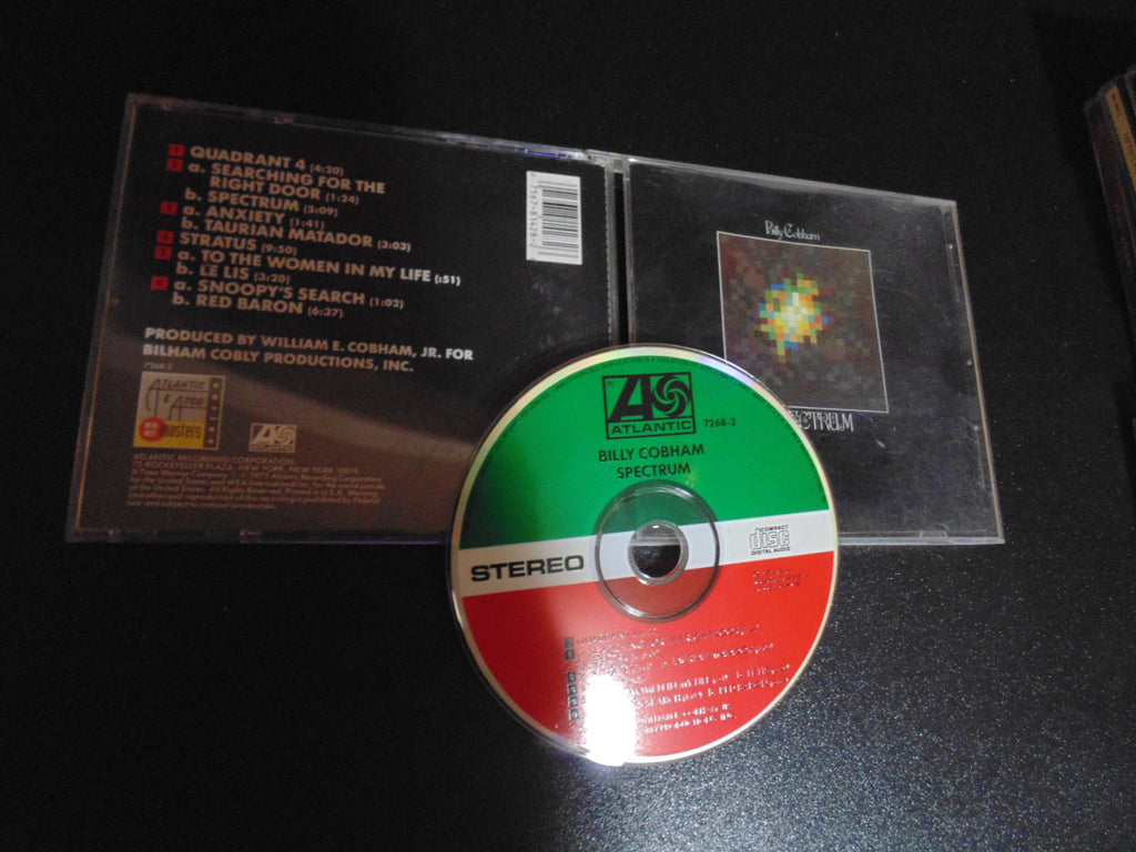 Billy Cobham CD, Spectrum, Tommy Bolin, Fibits: CD, LP & Cassette Store