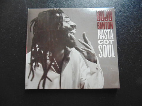Buju Banton CD, Rasta Got Soul, Fibits: CD, LP & Cassette Store