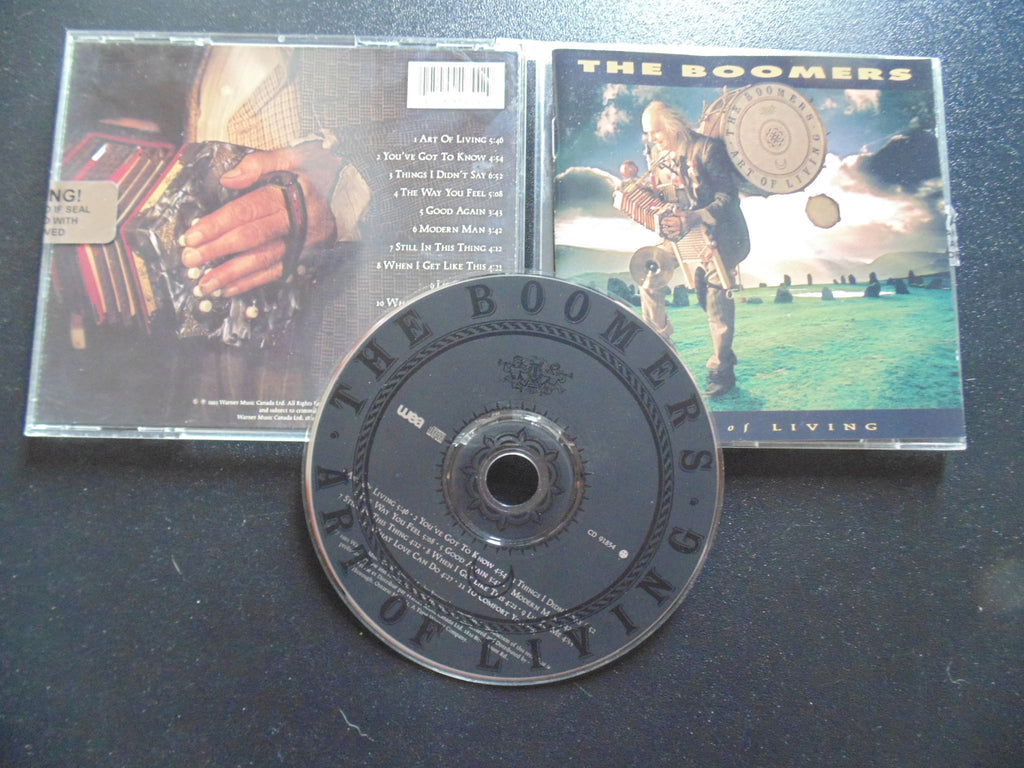The Boomers YYZ CD, Art of Living, Ian Thomas, Fibits: CD, LP & Cassette Store