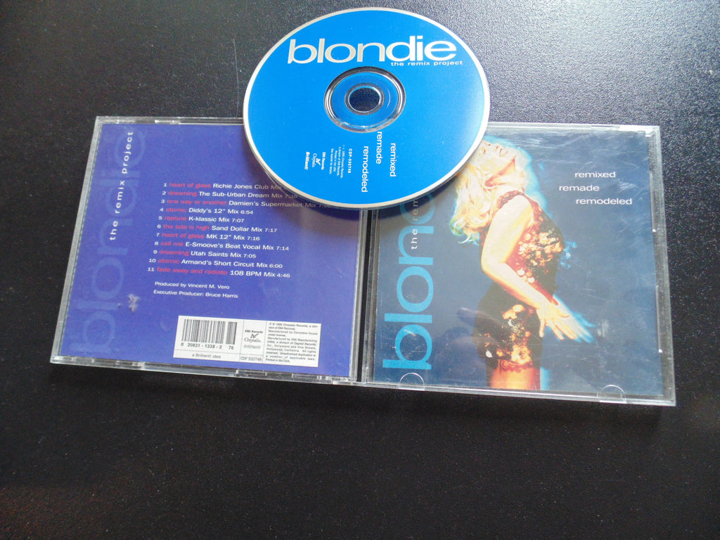 Blondie CD, The Remix Project, Remade, Remodeled, Debbie Harry, Fibits: CD, LP & Cassette Store