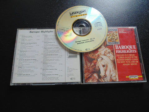 Baroque Treasures, Highlights CD, Bach, Handel, Fibits: CD, LP & Cassette Store