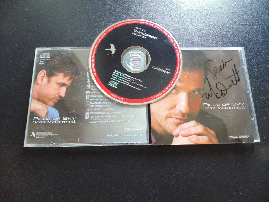 Sean McDermott CD, Piece of the Sky, Surround, Autographed, Fibits: CD, LP & Cassette Store