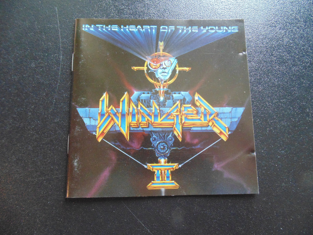 Winger CD, In the Heart of the Young, Fibits: CD, LP & Cassette Store
