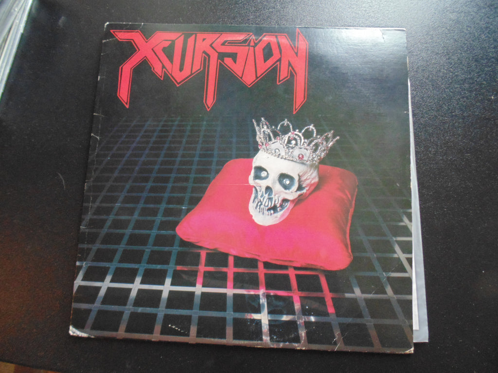 Xcursion LP, Slaughter, Vinnie Vincent, White Vinyl, Fibits: CD, LP & Cassette Store