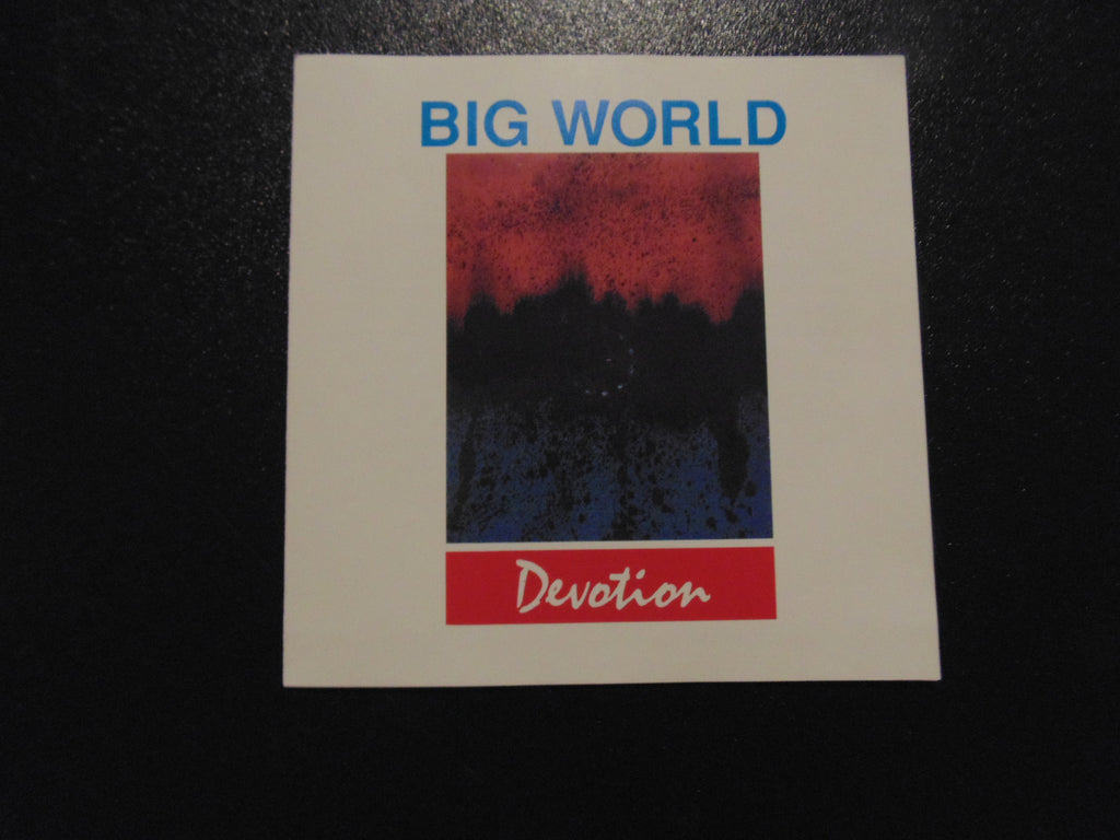 Big World CD, Devotion, Fibits: CD, LP & Cassette Store