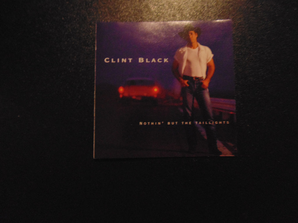 Clint Black CD, Nothin but the Taillights, Tail, BMG, Fibits: CD, LP & Cassette Store