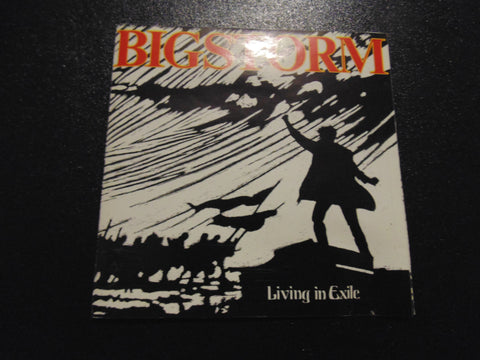 Bigstorm cd, Living in Exile, Big Storm, Fibits: CD, LP & Cassette Store