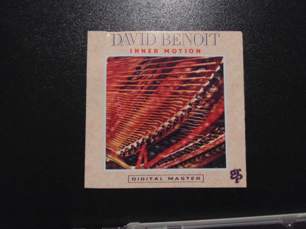 David Benoit CD, Inner Motion, BMG Pressing, 1990, Fibits: CD, LP & Cassette Store