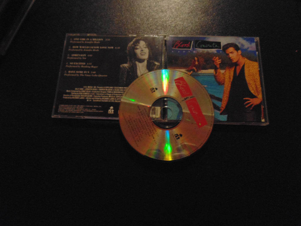 Blood & Concrete CD, A Love Story, Soundtrack, Jennifer Beals, Fibits: CD, LP & Cassette Store