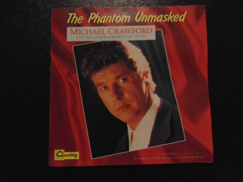 Michael Crawford CD, The Phantom Unmasked, London Symphony, Fibits: CD, LP & Cassette Store