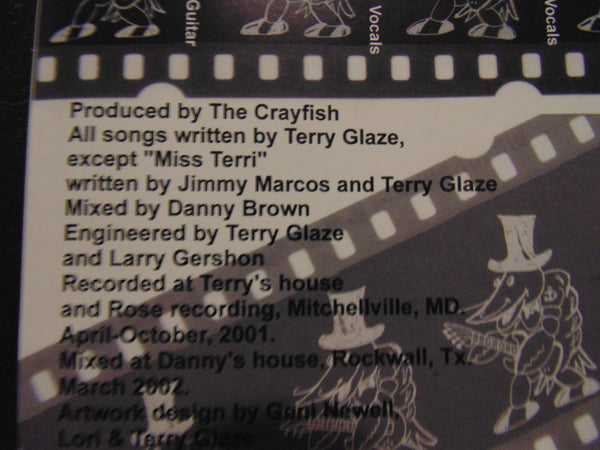 the crayfish cd self titled lord tracy pantera terry glaze fibits