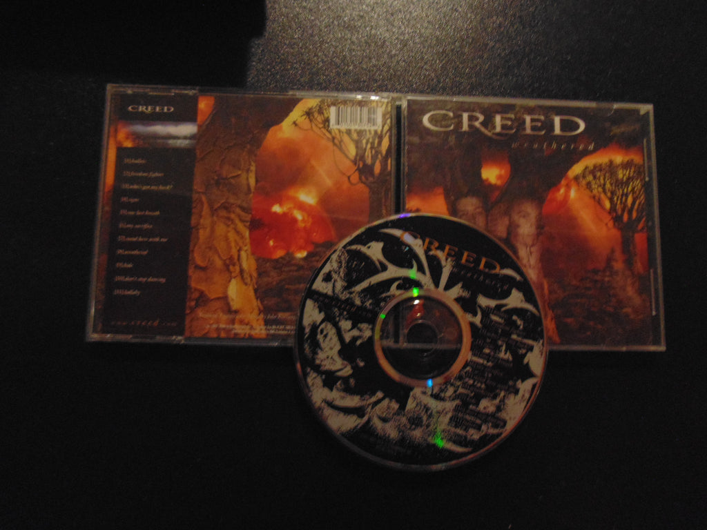 Creed CD, Weathered, Fibits: CD, LP & Cassette Store