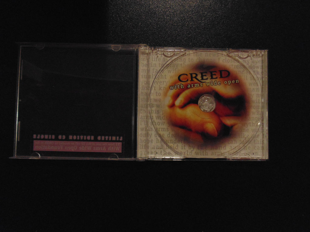 Creed CD, with Arms Wide Open, CD Single, Limited Edition, Clear CD, Fibits: CD, LP & Cassette Store