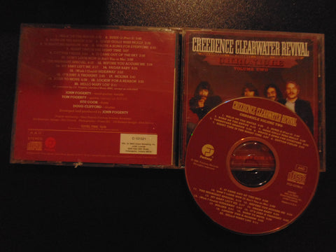 Creedence Clearwater Revival CD, Chronicle, Volume 2, Fibits: CD, LP & Cassette Store