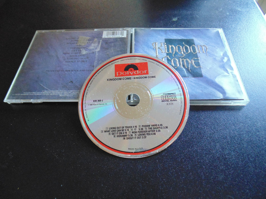 Kingdom Come CD, Self-titled, S/T, SAME, Bob Rock, Fibits: CD, LP & Cassette Store