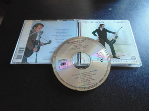Neil Diamond CD, Classics The Early Years, Hits, Best, Fibits: CD, LP & Cassette Store