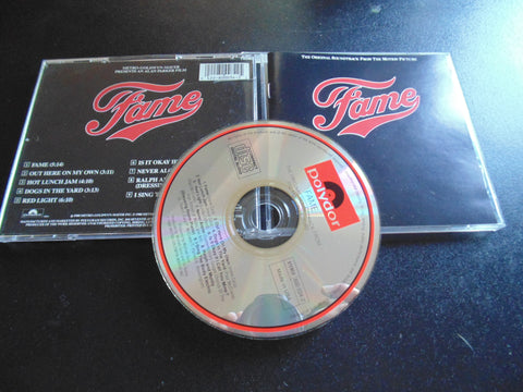 Fame CD, The Original Soundtrack, Motion Picture, Movie, Fibits: CD, LP & Cassette Store