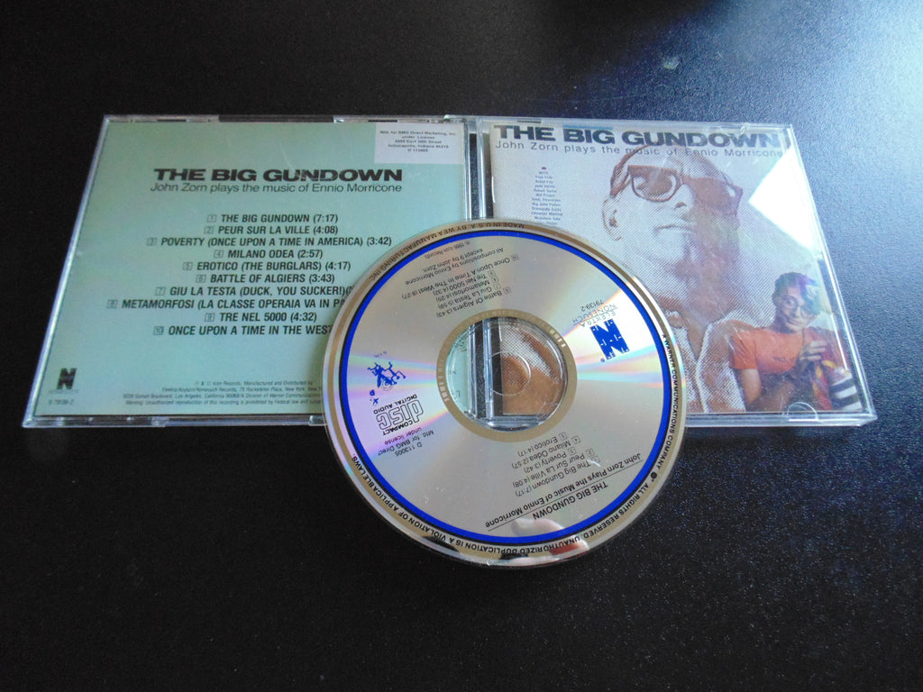 The Big Gundown CD, John Zorn, Mr. Bungle, Ennio Morricone, BMG, Fibits: CD, LP & Cassette Store