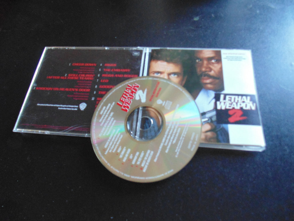 Lethal Weapon 2 CD, Soundtrack, Japan Import, Fibits: CD, LP & Cassette Store