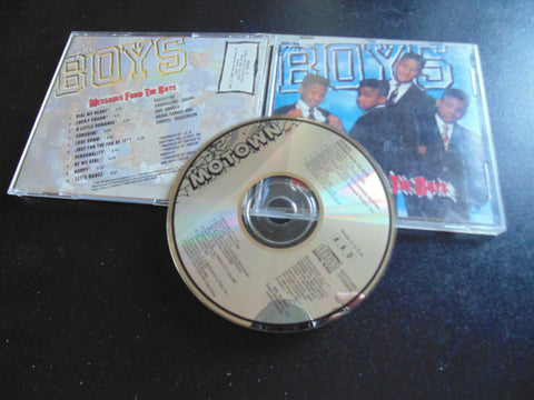 The Boys CD, Messages from the Boys, BMG, Fibits: CD, LP & Cassette Store