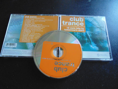 Club Trance CD, 18 Euro Hits, Blank & Jones, DJ Tatana, Fibits: CD, LP & Cassette Store