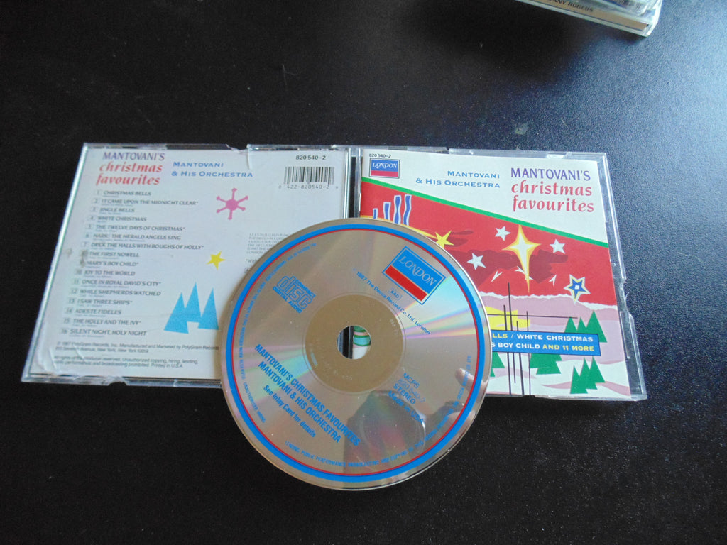Mantovani's Christmas Favourites CD, His Orchestra, Favorites, Fibits: CD, LP & Cassette Store