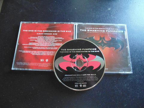 Smashing Pumpkins, Batman CD, The End is the Beginning, 1 Track, Fibits: CD, LP & Cassette Store
